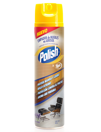 Limpiador de muebles en aerosol calbaq for Muebles en polan
